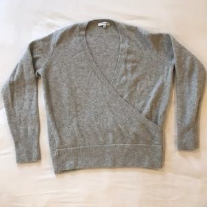 Madewell cross front sweater